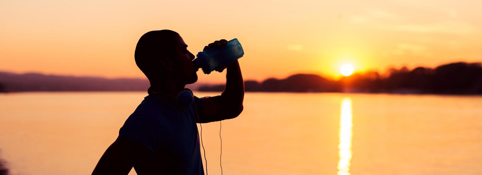 2-3 Liter täglich müssen es sein