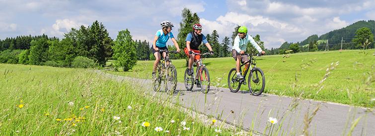 Mountainbiken ist gemeinsam sicherer
