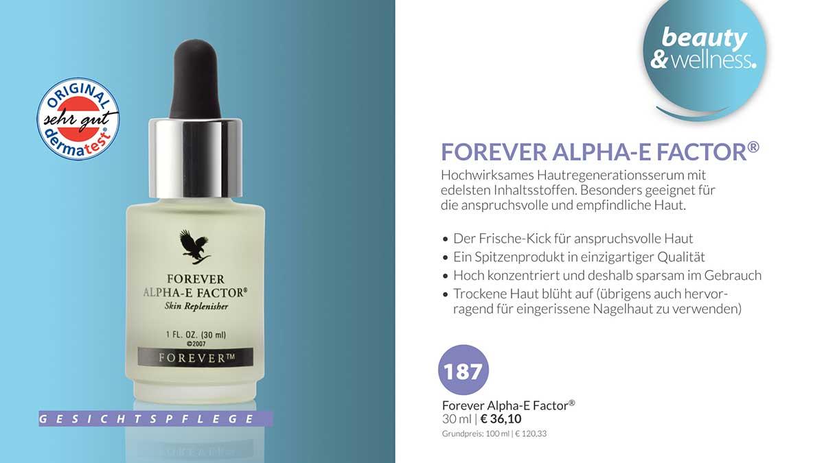 FOREVER ALPHA-E-FACTOR