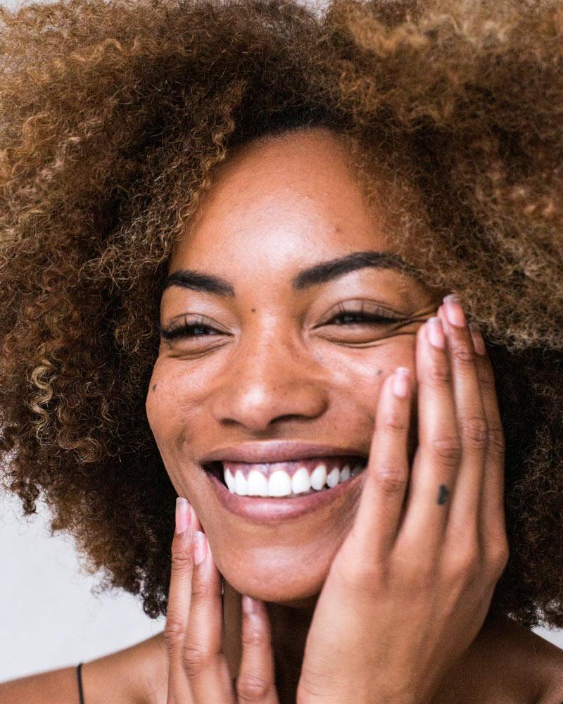 Die Haut freut sich über Forever Produkte