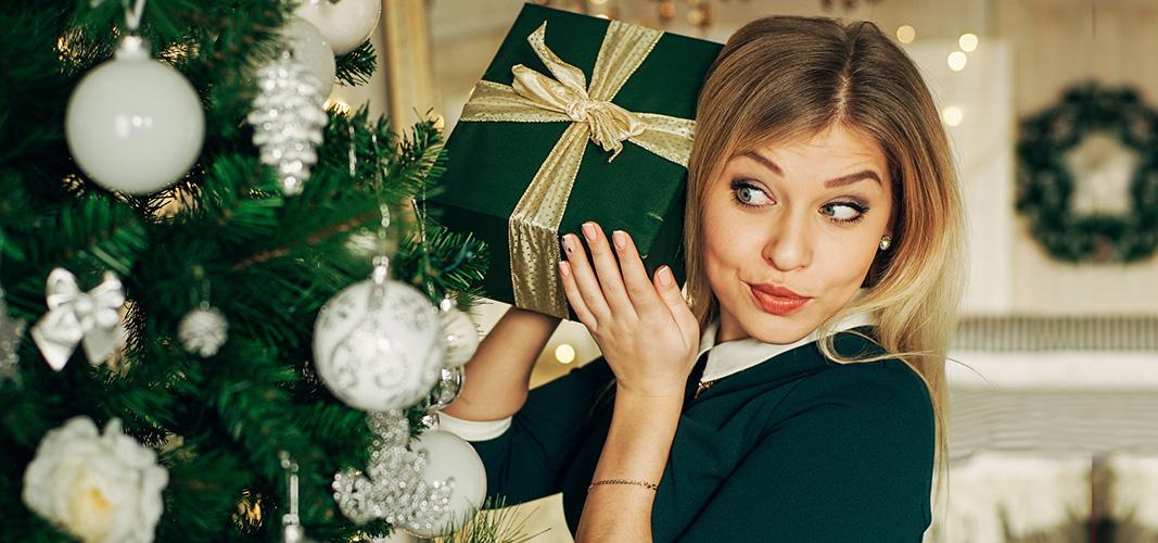 Geschenke untern Weihnachtsbaum.