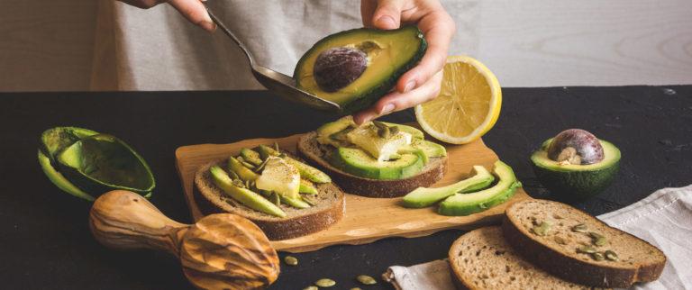 Avocado ist super gesund.