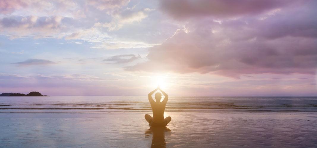 Positiv Denken. Höre deinem Körper zu. Sei glücklich.