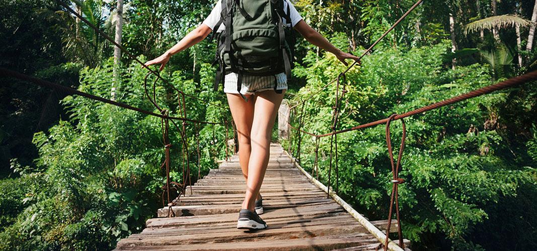 Wandern befreit vom Stress.