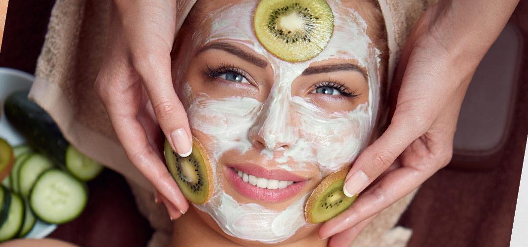 Säubere deine Haut.
