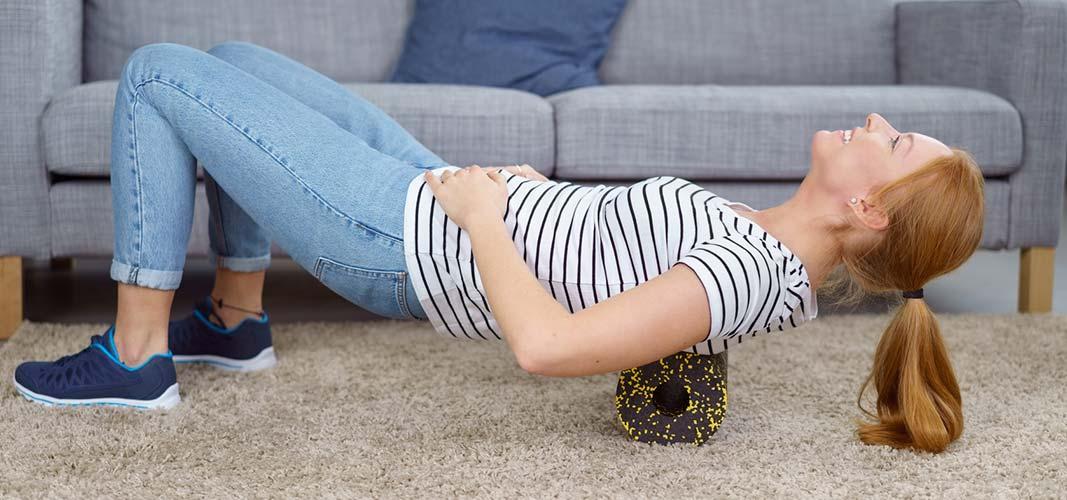Ein gezieltes Rückentraining hilft weiteren Schmerzen vorzubeugen!