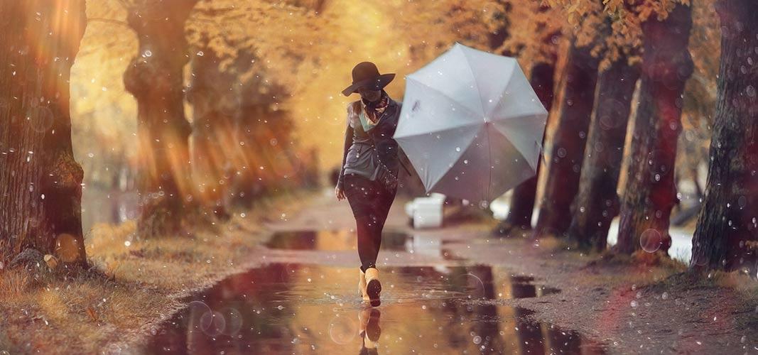 Bei Wind und Wetter raus.