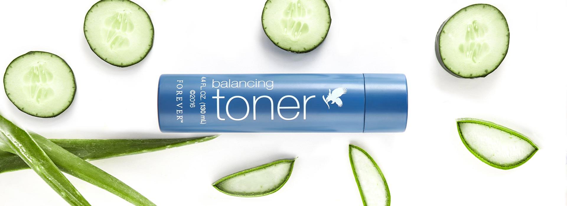 Der BALANCING TONER unterstützt die natürliche pH-Balance der Haut.