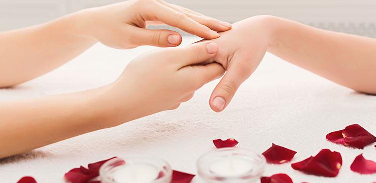 Handmassage.