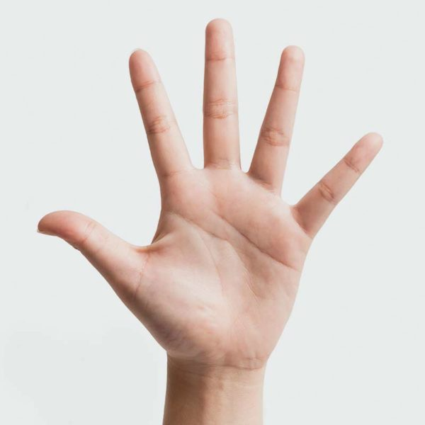 Portionsgrößen – gemessen mit der eigenen Hand: