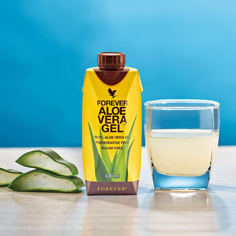 FOREVER ALOE VERA GEL™ ist der Klassiker unter den Aloe-Getränken!
