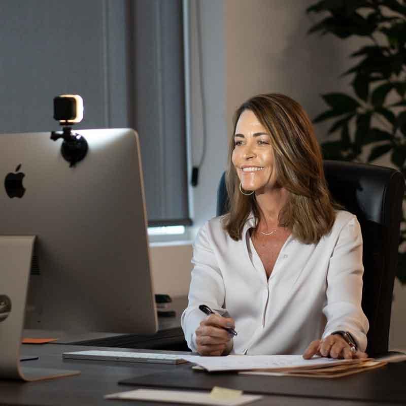 online-meetings am besten mit optimaler Beleuchtung