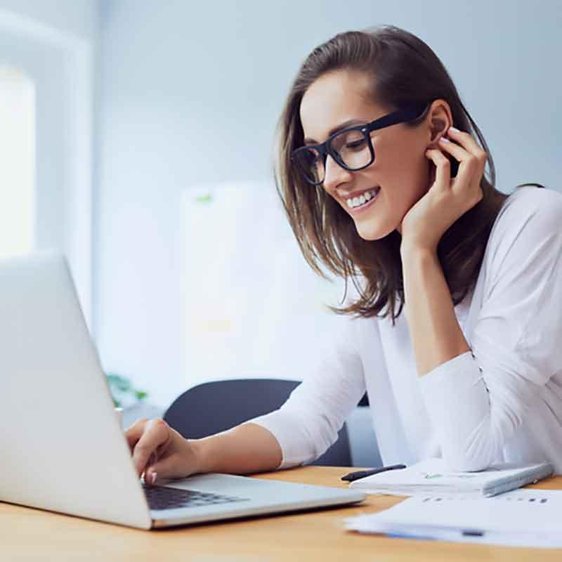 online-meetings am besten  mit natürlicher Schönheit