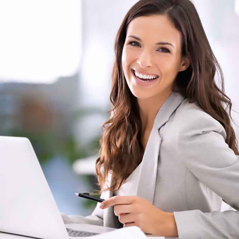 online-meetings immer mit einem Lächeln begleiten