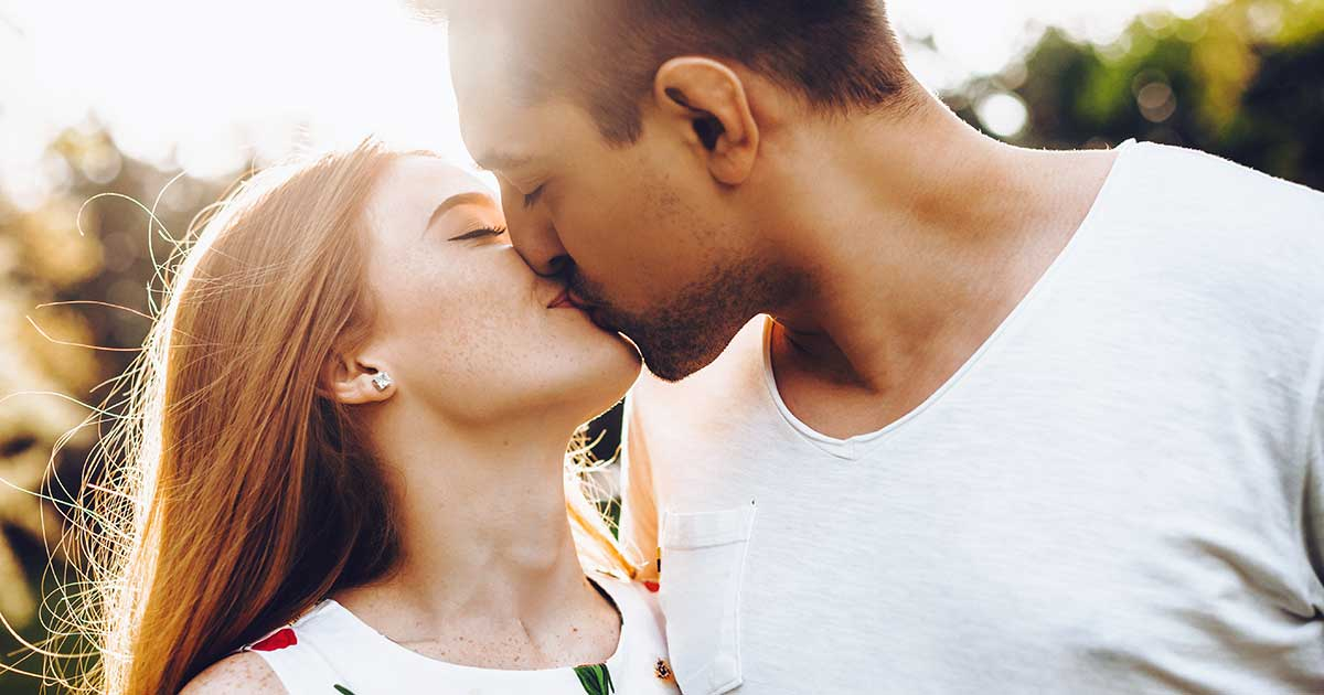 Küssen mit zunge richtig Das Zungenküssen