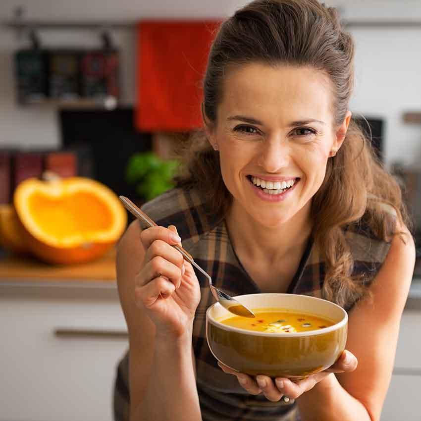 gesund abnehmen, Souping, Kalorien,Rezepte, Ernährung