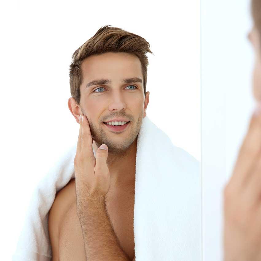 Gesichtspflege für Männer, Gesicht, Reinigung, Männerhaut, Pflege, Tipps, Produkte