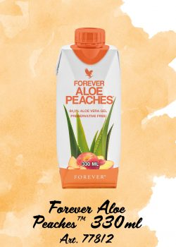 Forever Aloe Peaches 330ml_