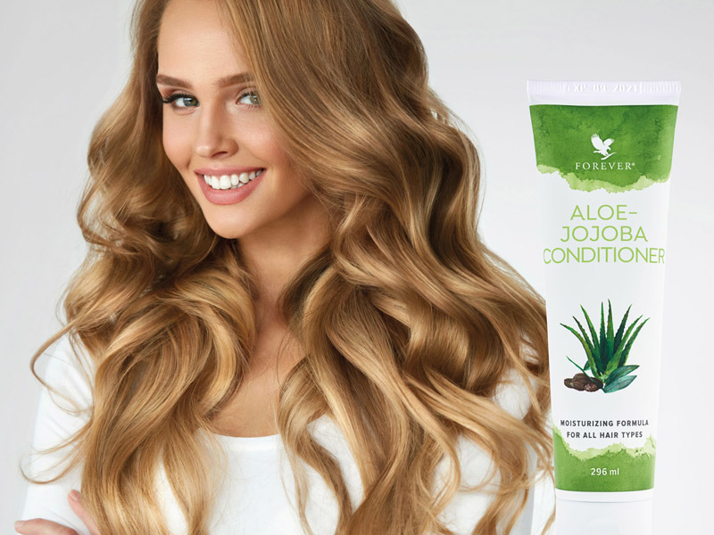 Aloe-Jojoba Conditioner für ultimatives Haar