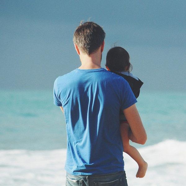 Vatertag am Meer