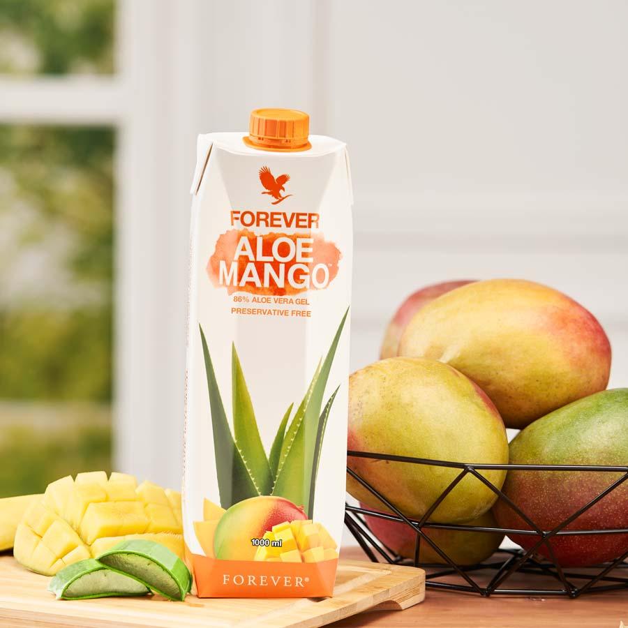 Aloe Mango Frühstück