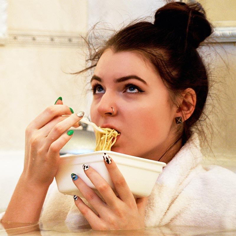 Trost beim Essen